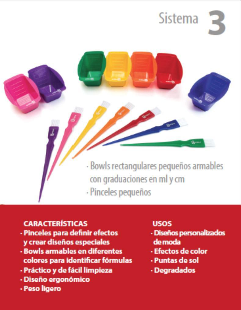 AB COLOR TOOLS CIOS RECTANGULARES DE COLORES CAJA C/ 7 PZAS.
