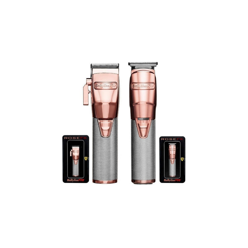 KIT  Recortadora Rose Gold
