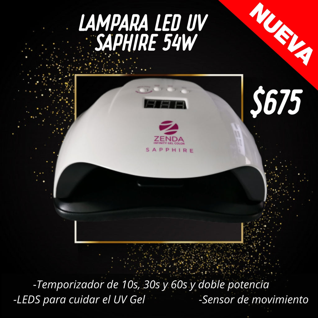 Lámpara Led UV Zenda Saphire 54W