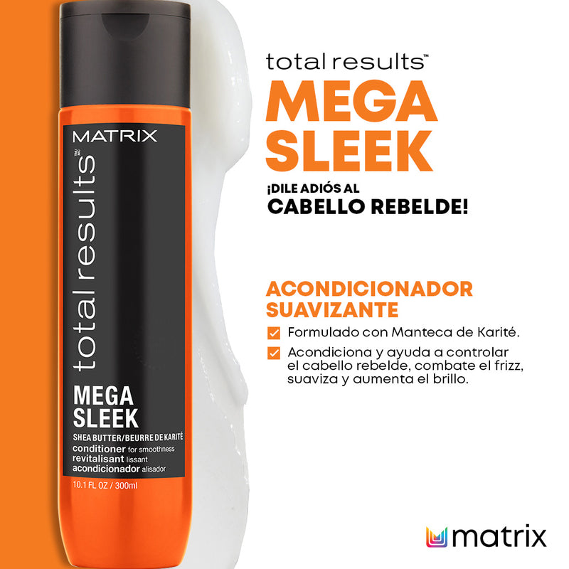 ACONDICIONADOR MATRIX TR MEGA SLEEK 300ML