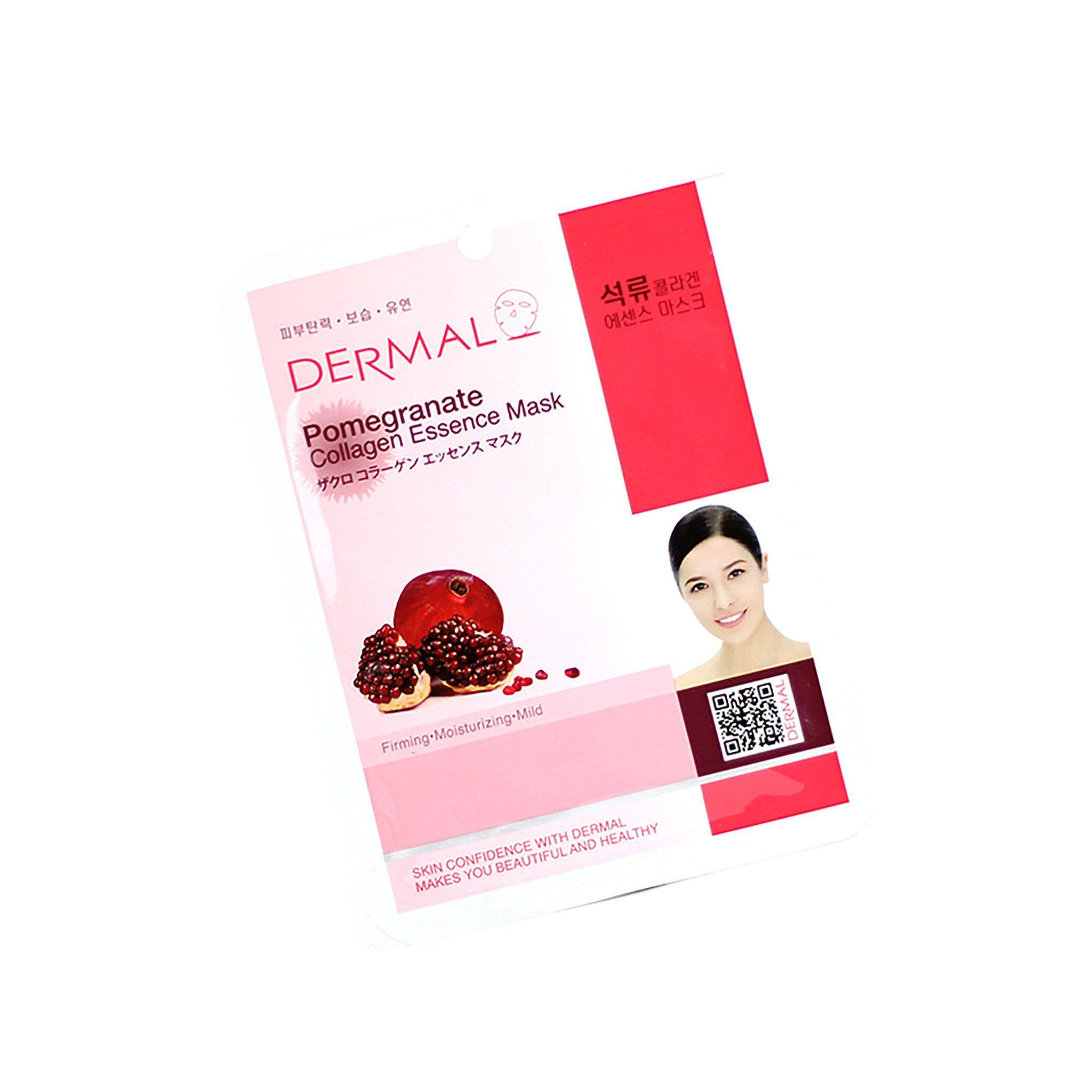 DERMAL MASCARILLA POMEGRANATE 1 PZA