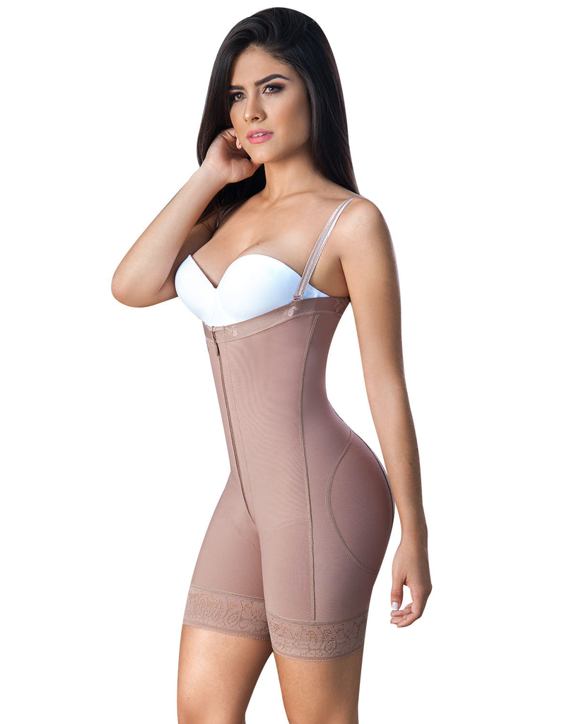 FAJA STRAPLESS COLOMBIANA DAILY USE  CON LEVANTA COLAS