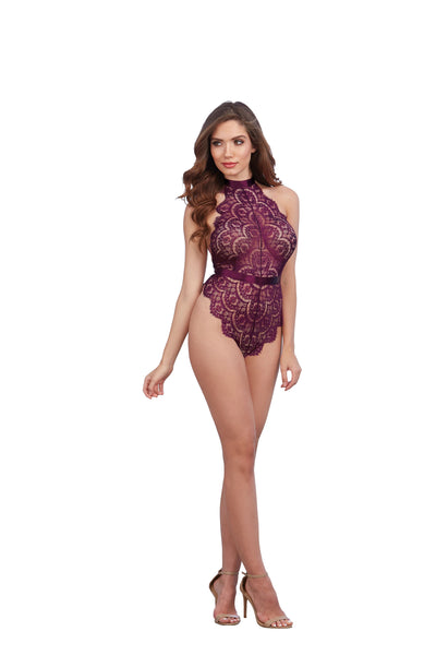 PAGE PERFECT LACE TEDDY