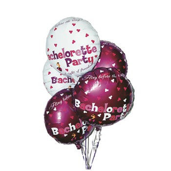 Bachelorette Party Foil Balloons - 9 Pack