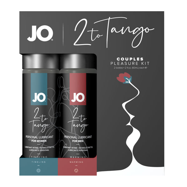 Jo 2 To Tango Warming and Tingling Couples Pleasure Kit