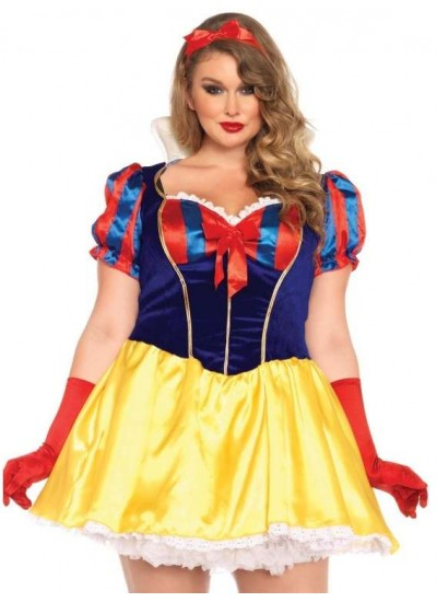 PLUS SIZE POISON APPLE PRINCESS COSTUME