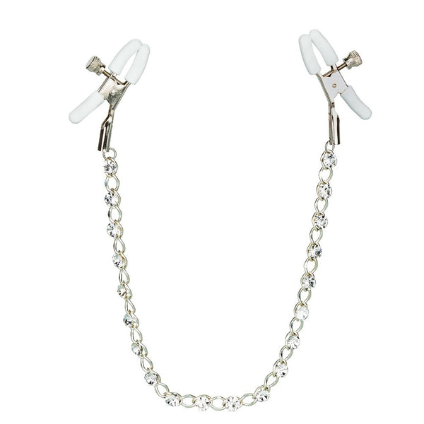 Calexotics Crystal Chain Nipple Clamps