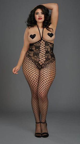 PLUS SIZE CALL ME BY MY NAME BODYSTOCKING