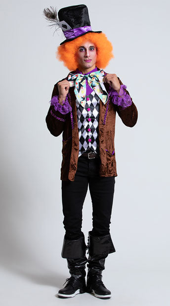 MEN'S HATTER MADNESS COSTUME