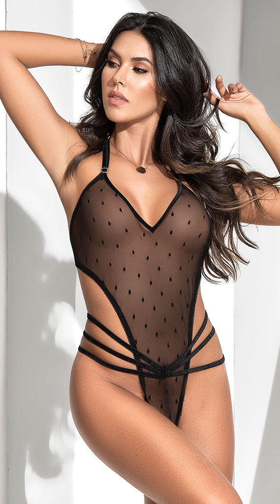 INNER BEAUTY MESH TEDDY