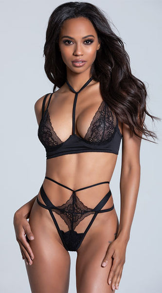 IT'S COMPLICATED LACE BRA SET