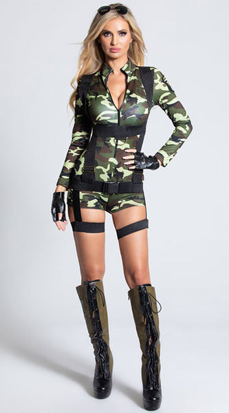 COMMANDO CUTIE COSTUME