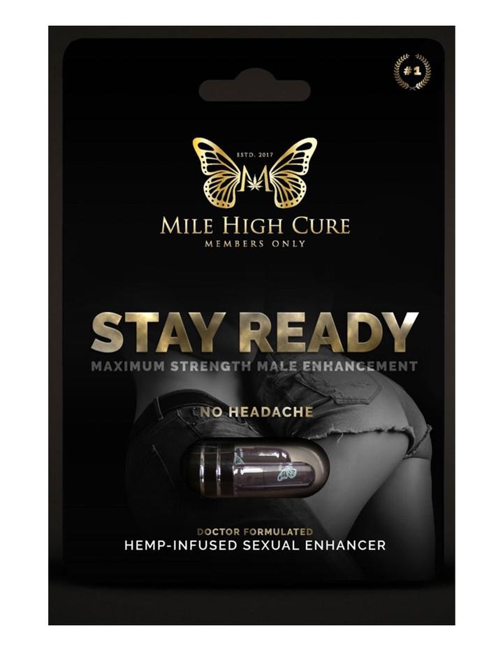 Stay Ready Hemp Infused Male Sexual Enhancement Supplement 2CT