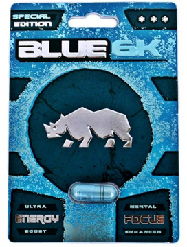 Blue Rhino Sexual Enhancement Supplement 6K 1CT