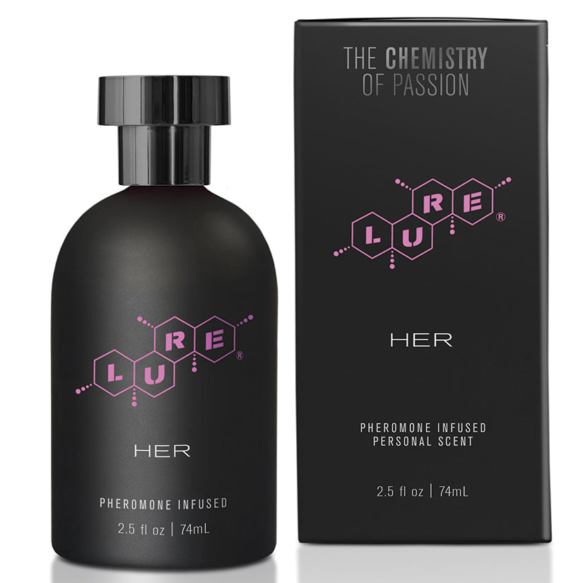 Lure Black Label For Her Pheromone Personal Scent 2.5oz