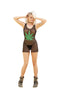 FISHNET CHEMISE WITH MARIJUANA  PRINT