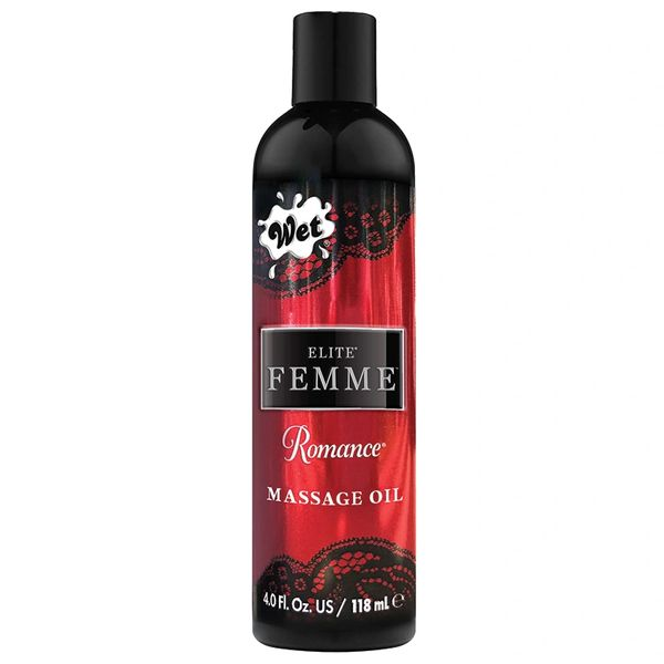 Wet Elite Femme Massage Oil