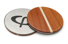 Load image into Gallery viewer, Cherry Wood Golf Ball Marker with Case - Caney Putterworks - 1