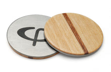 Load image into Gallery viewer, Maple wood Golf Ball Marker with Case - Caney Putterworks - 1