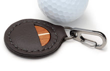 Load image into Gallery viewer, Cherry Wood Golf Ball Marker with Case - Caney Putterworks - 2