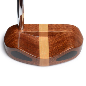CP2020 wood mallet putter back