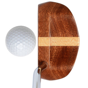 CP2020 wood mallet putter top