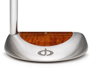 M11 Mallet Putter with Koa Wood - Caney Putterworks - 3