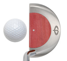 Load image into Gallery viewer, M11 Mallet Putter with Pink Ivory - Caney Putterworks - 4