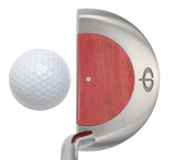 M11 Mallet Putter with Pink Ivory - Caney Putterworks - 4