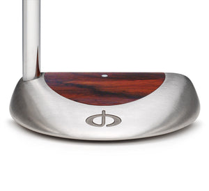 M11 Mallet Putter with Cocobolo Wood - Caney Putterworks - 2