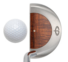 Load image into Gallery viewer, M11 Mallet Putter with Koa Wood - Caney Putterworks - 4