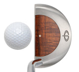 M11 Mallet Putter with Koa Wood - Caney Putterworks - 4