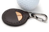 Maple Wood Golf Ball Marker with Case - Caney Putterworks - 2
