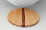 Maple Wood Golf Ball Marker with Case - Caney Putterworks - 3