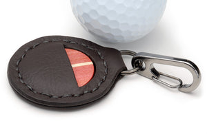 Pink Ivory Golf Ball Marker with Case - Caney Putterworks - 2