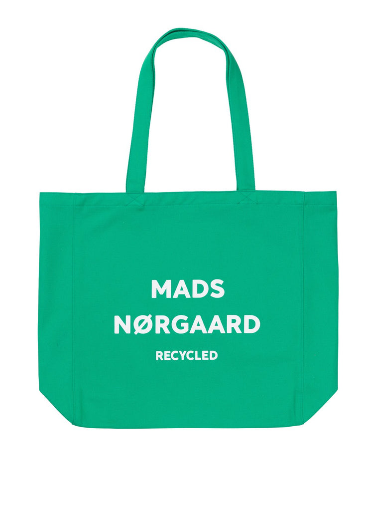 MADS NØRGAARD 131499 RECYCLED BOUTIQUE ATHENE SIGNAL GREEN/WHITE