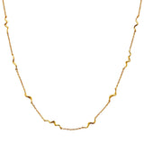 MAANESTEN 2552A UNDA NECKLACE GOLD