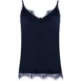 COSTER CC HEART LACE TOP B1436 NIGHT SKY BLUE