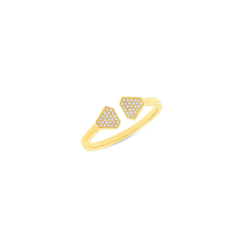 SHIELD CUFF RING