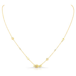 Paradise Opal Diamond Necklace