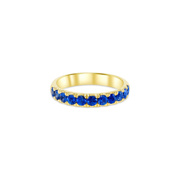 Blue Sapphire Unity Band