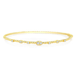 Diamond Bubbly Bangle