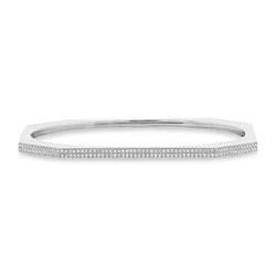 2 Row Pave Bangle