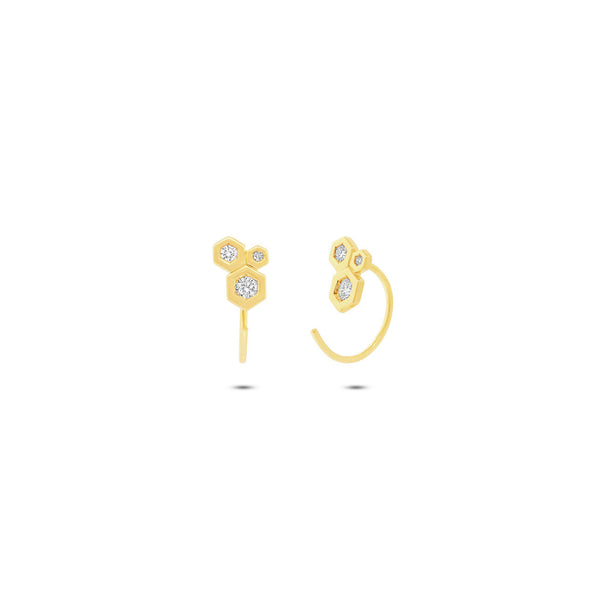 LOVE BUBBLE HOOK EARRING