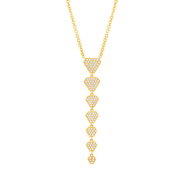 ATHENA DROP NECKLACE