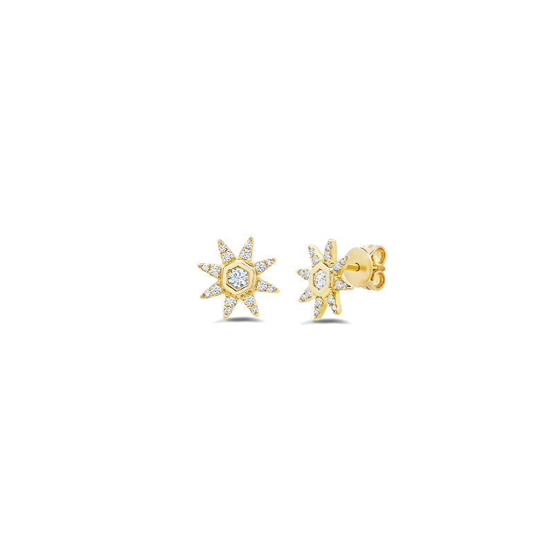 Starstruck Diamond Studs (Small)