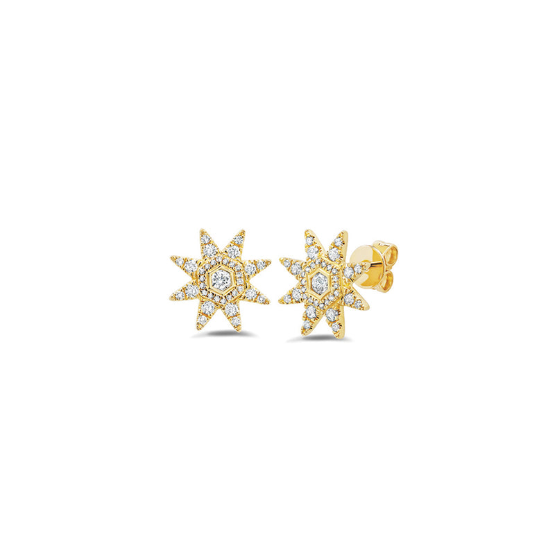 Starstruck Diamond Studs (Large)