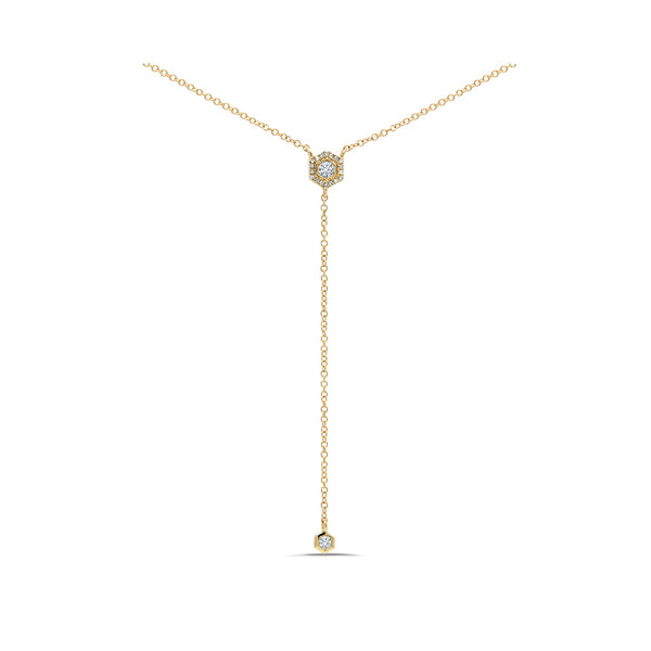 Love Bolt Lariat Necklace