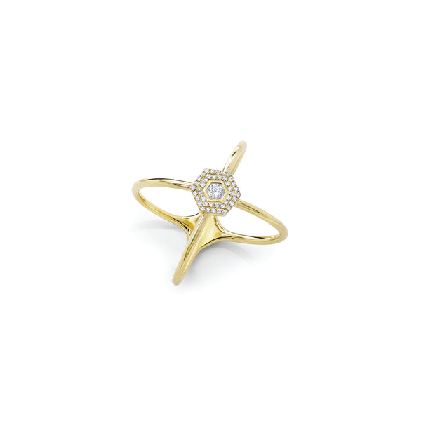 Love Bolt Atom Ring