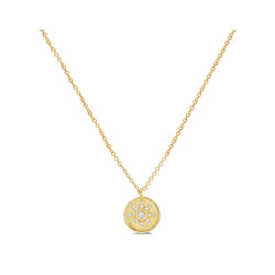 Starstruck Medallion Necklace (Small)